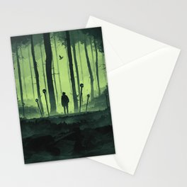 Mysteriously Lost Stationery Cards