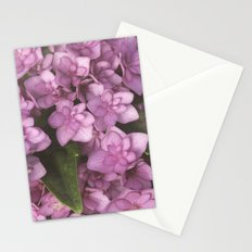 Double Bloom Hydrangea Stationery Cards