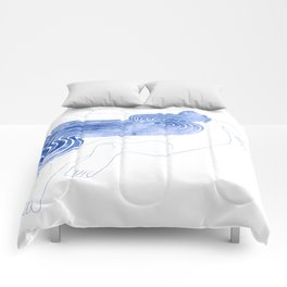 Water Nymph XLVII Comforters