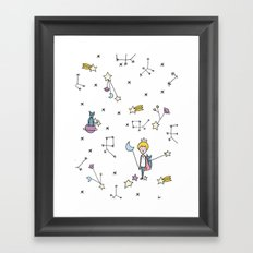 LE PETIT Framed Art Print
