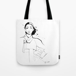 Ethnic Beauty - Korea Tote Bag