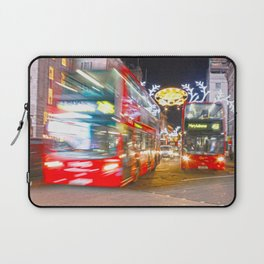 Red buses Laptop Sleeve