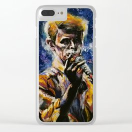 Return of the Thin White Duke Clear iPhone Case