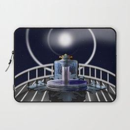 Moon Fountain Laptop Sleeve