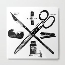 The Tools Metal Print
