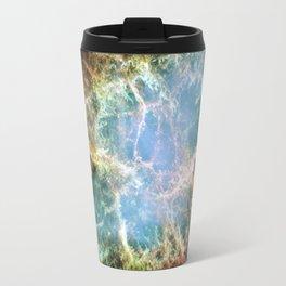 Crab Nebula Space Decor Travel Mug
