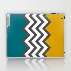 Color Blocked Chevron Laptop & iPad Skin