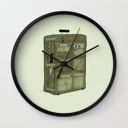 LOST Luggage / John Wall Clock