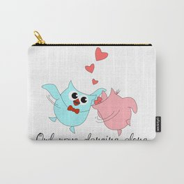 Owl Dancing Carry-All Pouch