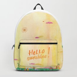 Hello Sunshine Exotic Landscape Backpack