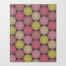 PAISLEYSCOPE flower Canvas Print
