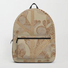 earthy swirls Backpack