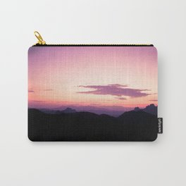 Fuchsia Sunset Carry-All Pouch