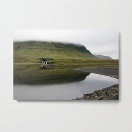 Waterfall, Schnæfellsnes, Iceland Metal Print