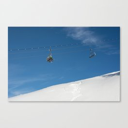 Chairlift Exchange Canvas Print