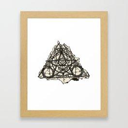 Imperfect Symmetry Framed Art Print