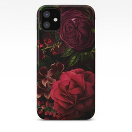 Vintage & Shabby Chic - Vintage & Shabby Chic - Mystical Night Roses iPhone Case