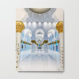 Grand Mosque Metal Print