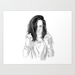 Underoath Art Print
