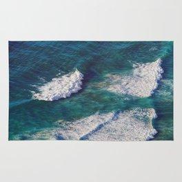 Waves Crashing Rug