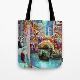 Carnival Moon Tote Bag