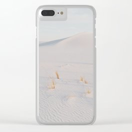 White Sands National Monument Clear iPhone Case