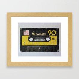 Mixtape Framed Art Print
