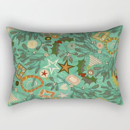 festive berries Rectangular Pillow