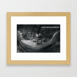 Honeymoon Horrors Framed Art Print