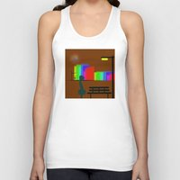 30 rock Tank Tops featuring cool sketch 30 by Cool-Sketch-Len