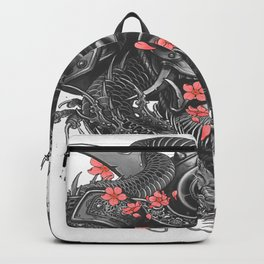 Sleeve tattoo Samurai Irezumi Backpack