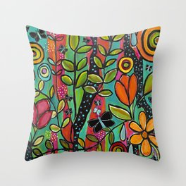 A Wish To Fly Throw Pillow
