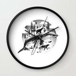 ARCTIC WONDERS Wall Clock