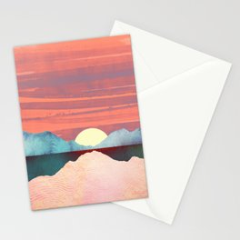 Pink Oasis Stationery Cards