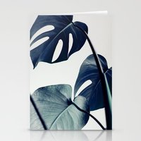 Stationery Cards featuring botanical vibes II by Andrew Marcu