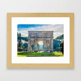 The Roman Arch Framed Art Print