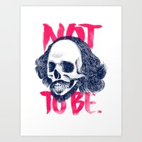 There's no more question. Art Print