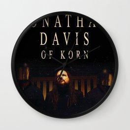 JONATHAN DAVIS WORLD TOUR DATES 2019 FIZI Wall Clock