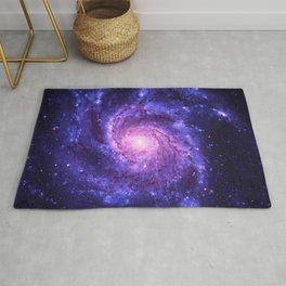 the Spiral space dust galaxy Rug
