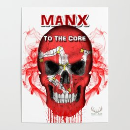 To The Core Collection: Isle Of Man Poster