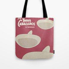 The Three Caballeros - Alternative Poster Tote Bag