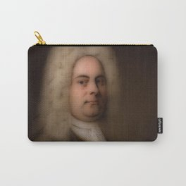 George Frideric (or Frederick) Handel (born Georg Friedrich Händel) by Balthasar Denner (c. 1726–172 Carry-All Pouch