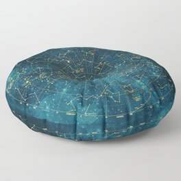 Under Constellations Floor Pillow