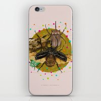 insect iPhone & iPod Skins featuring Insect Universe by dogooder