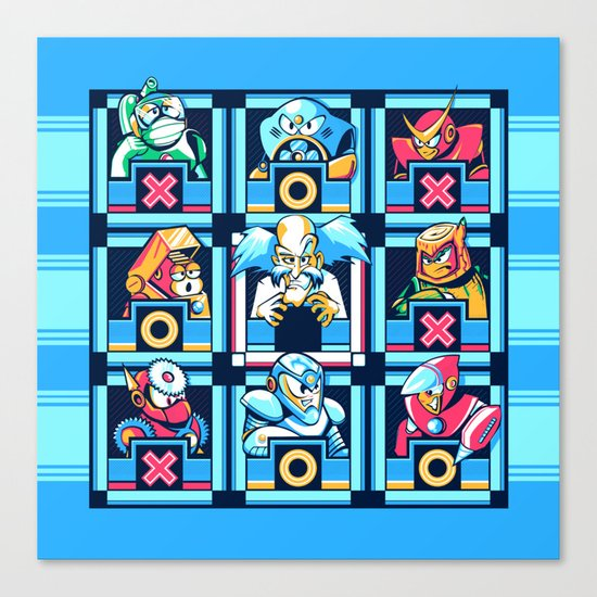 Wily For The Win Canvas Print