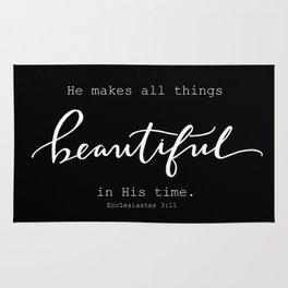 Ecclesiastes 3:11 Rug