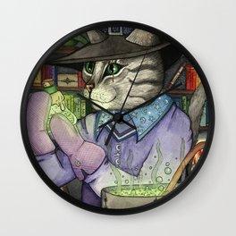 A Cat's Magic Wall Clock