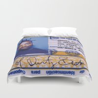 dirty dancing Duvet Covers featuring DIRTY by NIGHTJUNKIE