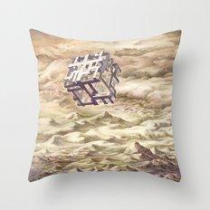 CUBE Throw Pillow