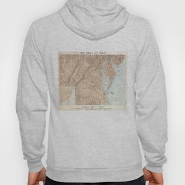 Vintage Map of The Chesapeake Bay (1861) Hoody